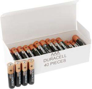 Duracell PLUS High Power Alkaline - AAA Box of 40 - £11.99 @ 7dayshop