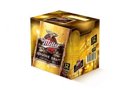 12 330ml of miller for £6 at morrisons