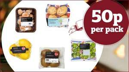 50p Fruit & Veg @ Sainsbury's