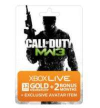 EXPERTZONE (not open to everyone): COD MW3 - Xbox 360 Live 12 month PLUS 2 months & Avatar £21.60