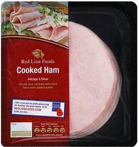 Red Lion Foods Cooked Ham (200g) £2.99 @ Tesco BOG2F