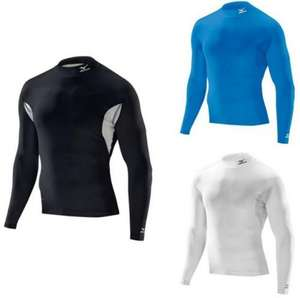 MIZUNO BIOGEAR THERMAL WINTER BASELAYER COMPRESSION TOP  £19.95 Ebay - FROM HELYN SPORTS