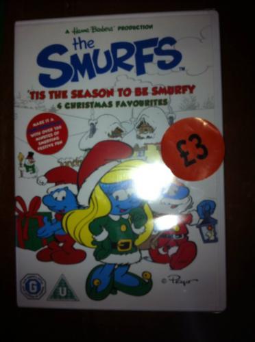 The Smurfs - Tis the Season to be Smurfy Xmas DVD - £3 instore @ Sainsburys
