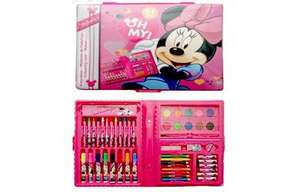 Cars or Minnie Mouse Deluxe Art Case £5 @ The Entertainer