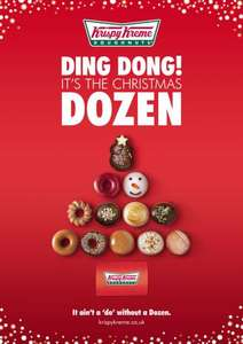 Krispy Kremes Festive Double Dozen Deal £13 @ Tesco Instore