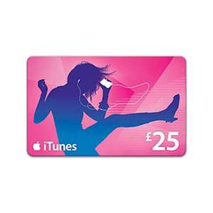 £25 iTunes card for £20 INSTORE @ Game