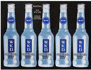 WKD Original Vodka Blue (10 x 275ml) £7 at Asda
