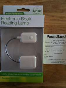 Kindle reading lamps £1 at Poundland