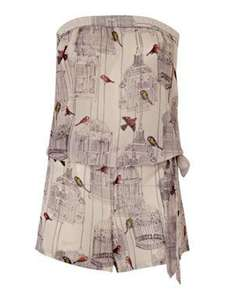 Ted Baker Bird Cage Playsuit £22.75 + £3 P&P was £65 @ House of Fraser