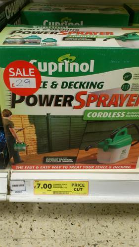 Cuprinol fence & decking sprayer