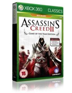 ASSASSINS CREED 2 GAME OF THE YEAR CLASSICS Xbox 360 @ Shopto.net for £7.85