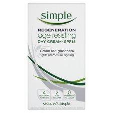 Simple Regeneration Age Resisting Day Cream SPF15 £3.00 instore @ Tesco