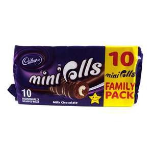 2X10 Cadbury mini rolls for £2 @Iceland