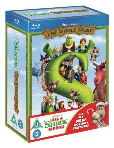 Shrek 1 - 4 Boxset (Blu-ray) for £36.99 @ Bee.com