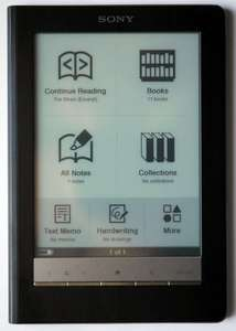Sony Reader Touch Edition PRS-600 Refurb Waterstones ebay £59.99
