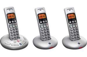 BT GRAPHITE 3500 TRIO DIGITAL CORDLESS ANSWERPHONE Mnf refurb £34.99 + free delivery at BT Outlet on Ebay