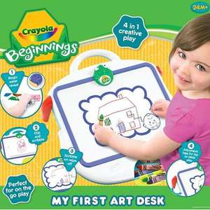 Crayola, My First Art Desk £9.92 delivered today only ! @ Debenhams - marked up at £16.