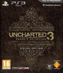 Uncharted 3: Drakes Deception Special Edition £32.99 @ Gamestation and Game