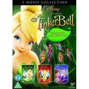 Tinker Bell Triple Pack (Tink, Lost Treasure and Fairy Rescue) [DVD] - £9.97 Delivered @ Amazon