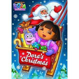 dora's christmas dvd  £3.49 delivered at amazon..new release, october 2011