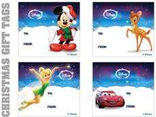 Free Disney Christmas Cards and Gift Tags @ Disney Rewards