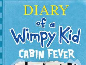 New wimpy kid hardback book- Cabin Fever £5 @ Amazon