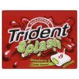 Trident Splash Strawberry & Lime chewing gum mutipack  at Tesco instore 33p