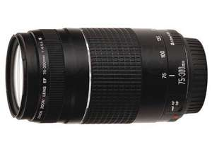 Canon EF 75-300mm f/4.0-5.6 III Lens - £110.99 Delivered @ Amazon