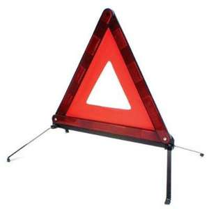 OFFICIAL AA WARNING TRIANGLE WITH CASE - £3.99 DELIVERED - AMAZON