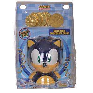 Sonic the Hedgehog Ceramic Money Bank & Chocolate Coins - £1.99 In Store @ Home Bargains