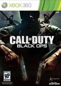 Call of Duty Black ops £7.99 pre owned @ Gamestation instore