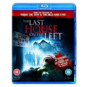 The Last House On The Left [Blu-ray] £2.42 @ Gzoop via Amazon Marketplace