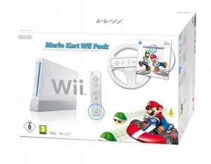 Nintendo Wii Console with Wii Remote Plus - White Mario Kart Pack £97.49 @ Amazon.co.uk