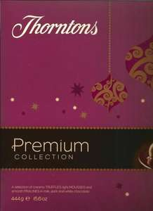 Thorntons Premium collection 444 grams £4.99 at Home Bargains