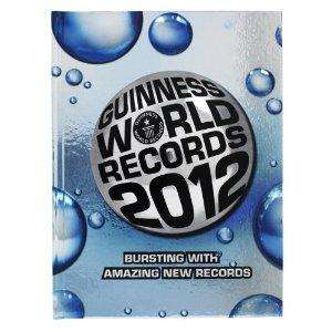 Guinness World Records 2012  - £5 at selected BP Garages with voucher