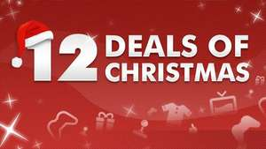 12 Deals Of Christmas On PSN @ PSN Store