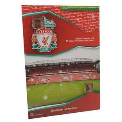 Liverpool Team Advent Calendar 10p @ Sports Direct