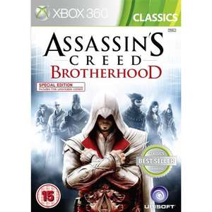 Assassin's Creed: Brotherhood (Classics) Xbox & PS3  £8.99 @ play