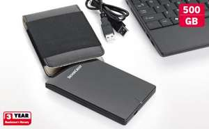 Lidl - 500GB Portable Hard Drive - £29.99 - From 8th Dec.