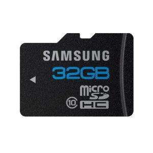 Samsung 32GB Class 10 Micro SD Card - £34.99 FREE DELIVERY @ Amazon
