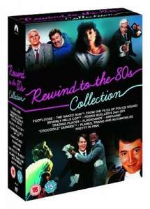 Rewind to the 80s 10 dvd boxset @the hut