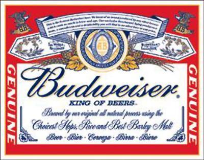 Budweiser box of 12 X 300ml bottles £5.59 @ Aldi