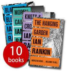 Ian Rankin 10 book fiction collection £9.99 delivered @ the book people.