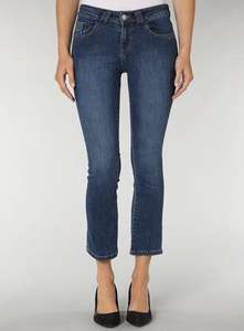 Dorothy Perkins midwash Bootcut ankle jeans £5