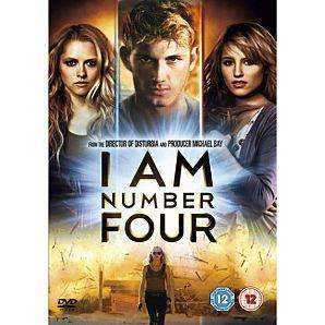 I Am Number Four (DVD) for £3.99 @ Bee.com NOT EXPIRED