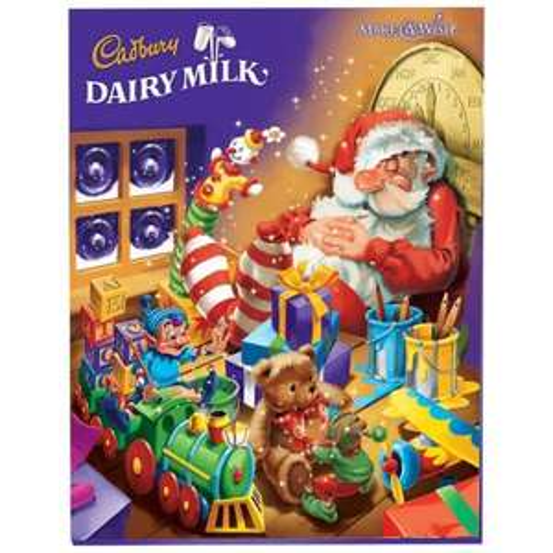 Cadburys Advent Calendar £2.30 scanning  at £1.12 @ Co-op