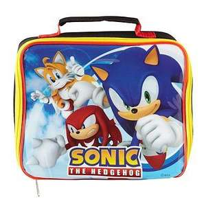 Boys sonic the hedgehog lunch bag £6.46 with code @ Debenhams