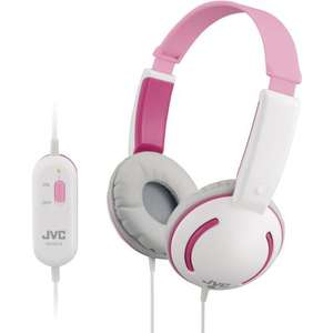 JVC HA-KD10-P Tiny Headphones for Kids - Pink £29.99 only £14.99 @ Amazon