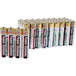 Batteries 40 AA Alkaline batteries £7.49 7dayShop