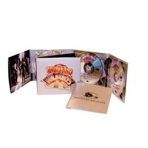 The Traveling Wilburys: Deluxe Boxset:  Volume 1 & 3 CD (includes Bonus Tracks): Bonus DVD: Book: only £8.99 delivered @ Bee [Bob Dylan, George Harrison, Jeff Lynne, Roy Orbison and Tom Petty]